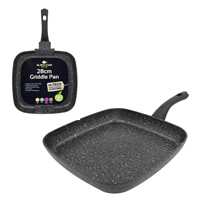 BLACKMOOR HOME - 28cm Griddle Pan Square