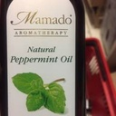 [MA20] Mamado Aromatherapy Natural PEPPERMINT Oil 150ML