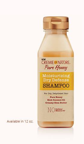 CREME OF NATURE PURE HONEY (SHAMPOING HYDRATANT) 355ml