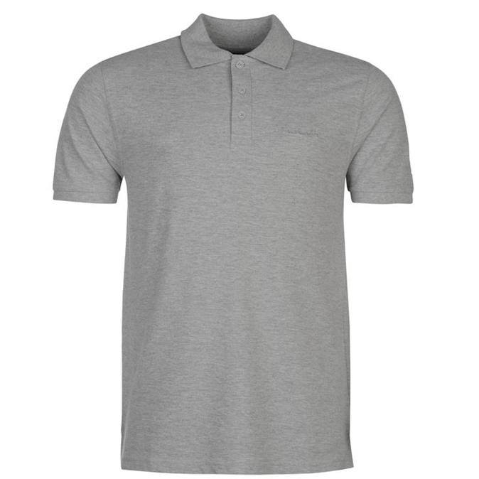 PIERRE CARDIN Plain Polo Short Sleeve
