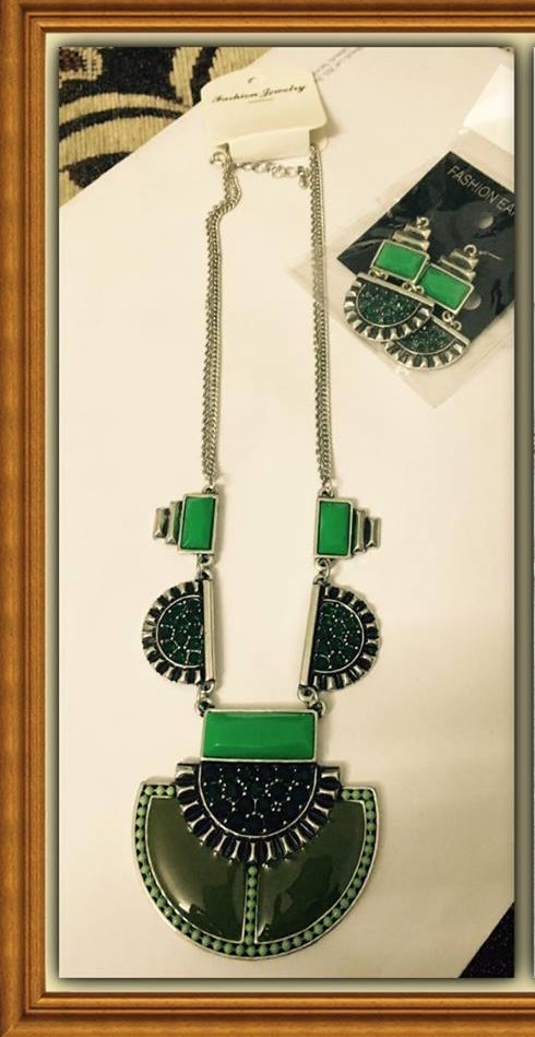 JOLIE AFRICAN SET NECKLACE