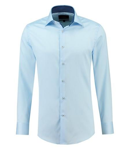 HAWES & CURTIS Collection Textured Slim Fit Long Sleeve