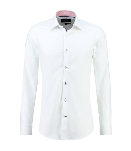 HAWES & CURTIS Collection Pique Slim Fit Long Sleeve
