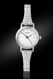 [4676] SEKONDA Expander Silver Ladies Watch