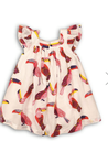 AOP Dress White/Hot Pink (MEXICO 1) (3YRS)