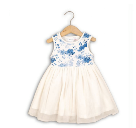 Dress w/ AOP Top White (PRAIRIE 4)