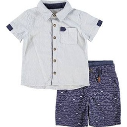 TWO PIECE SHARK THEMED OUTPIT SET (KID0000005)