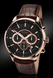 [1178] SEKONDA Gents Chronograph Watch Men