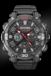 [1036] SEKONDA Gents Chronograph Watch Men