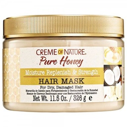 [CON42802] CREME OF NATURE PURE HONEY (MASQUE HYDRATANT ET FORTIFIANT) 326g