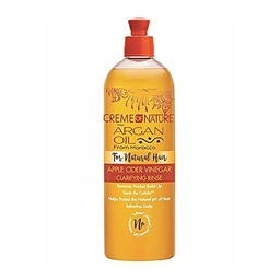 [CON38979] CREME OF NATURE w/ ARGAN OIL from Morocco Apple Cider Vinegar Clarifying Rinse 460ml